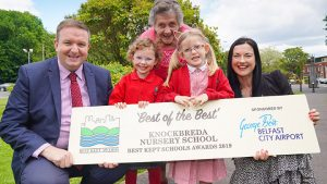 Knockbreda Nursery School take the hat-trick